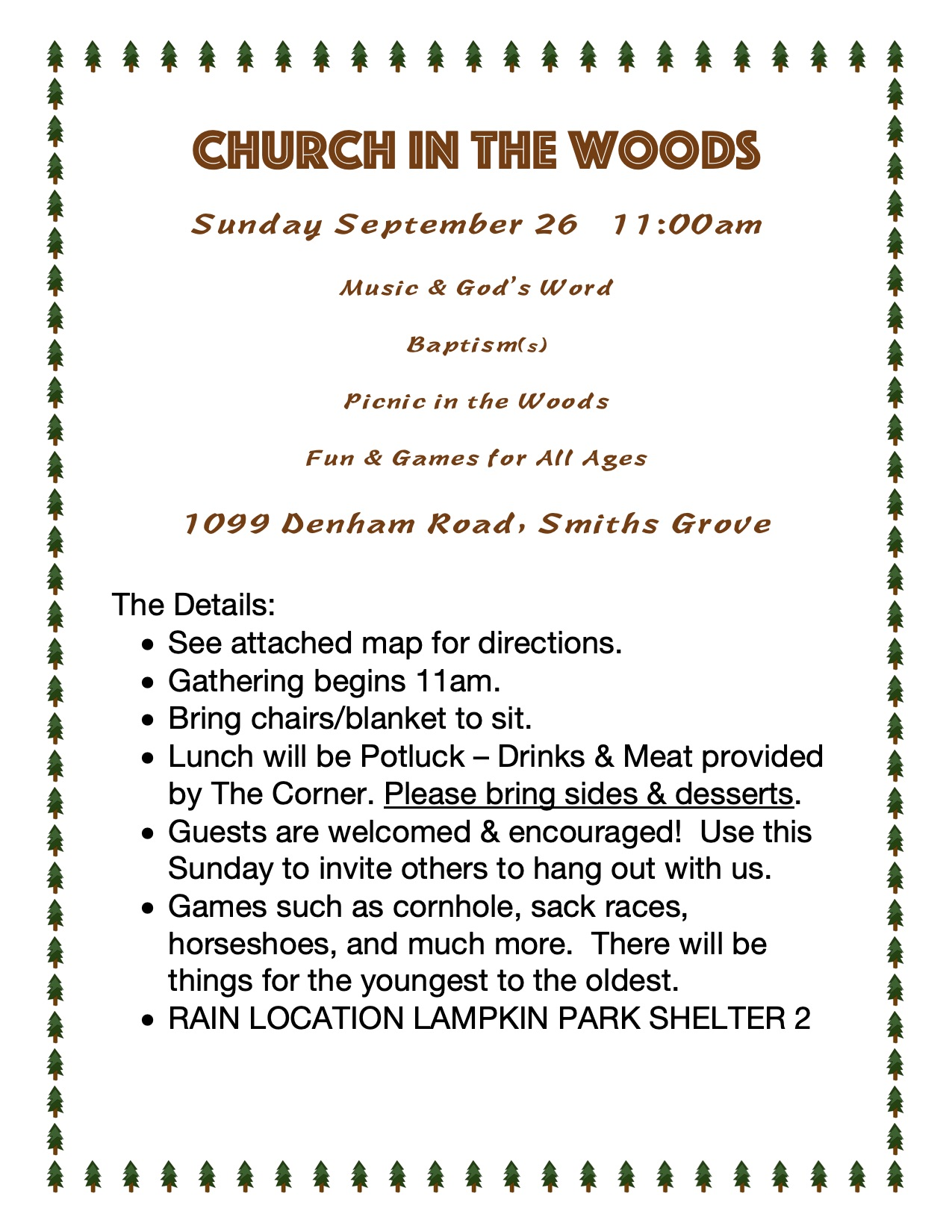 Church In The Woods 09.26.21
